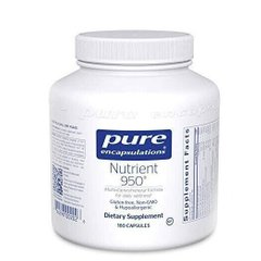 Pure Encapsulations, Мультивитамины/минералы, Nutrient 950, 180 капсул