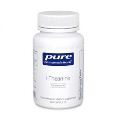 Pure Encapsulations, L-Тианин (теанин), l-Theanine, 60 капсул