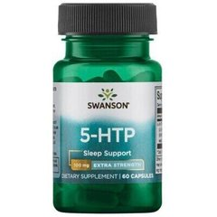 Swanson, 5-НТР экстра сила, 5-HTP Extra Strength, 100 мг, 60 капсул