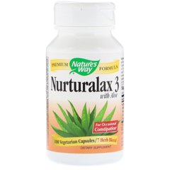Алоэ вера (Naturalax3), Nature's Way, 430 мг, 100 капсул