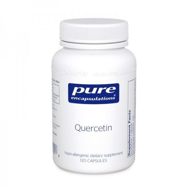 Кверцетин, Quercetin, Pure Encapsulations, 120 капсул