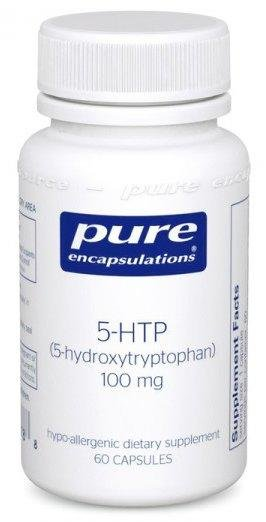 5-HTP (5-гідроксітріптофана), Pure Encapsulations, 100 мг, 60 капсул