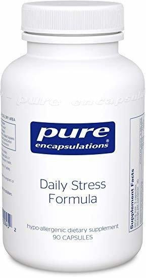 Антистресова формула, Daily Stress Formula, Pure Encapsulations, 90 капсул