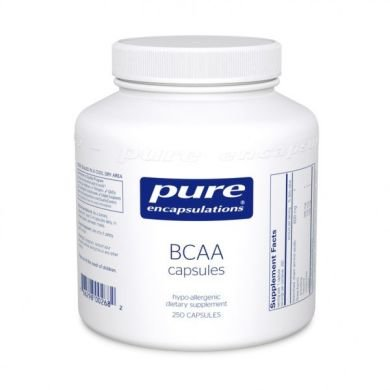 BCAA, Pure Encapsulations, 90 капсул