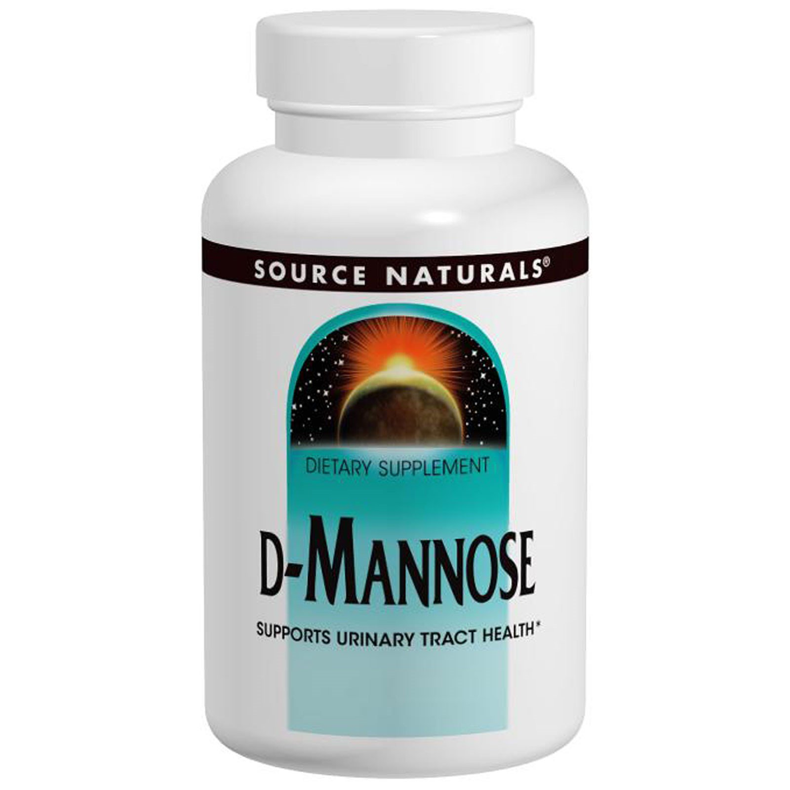 Д-Манноза, Source Naturals, 500 мг, 60 капсул