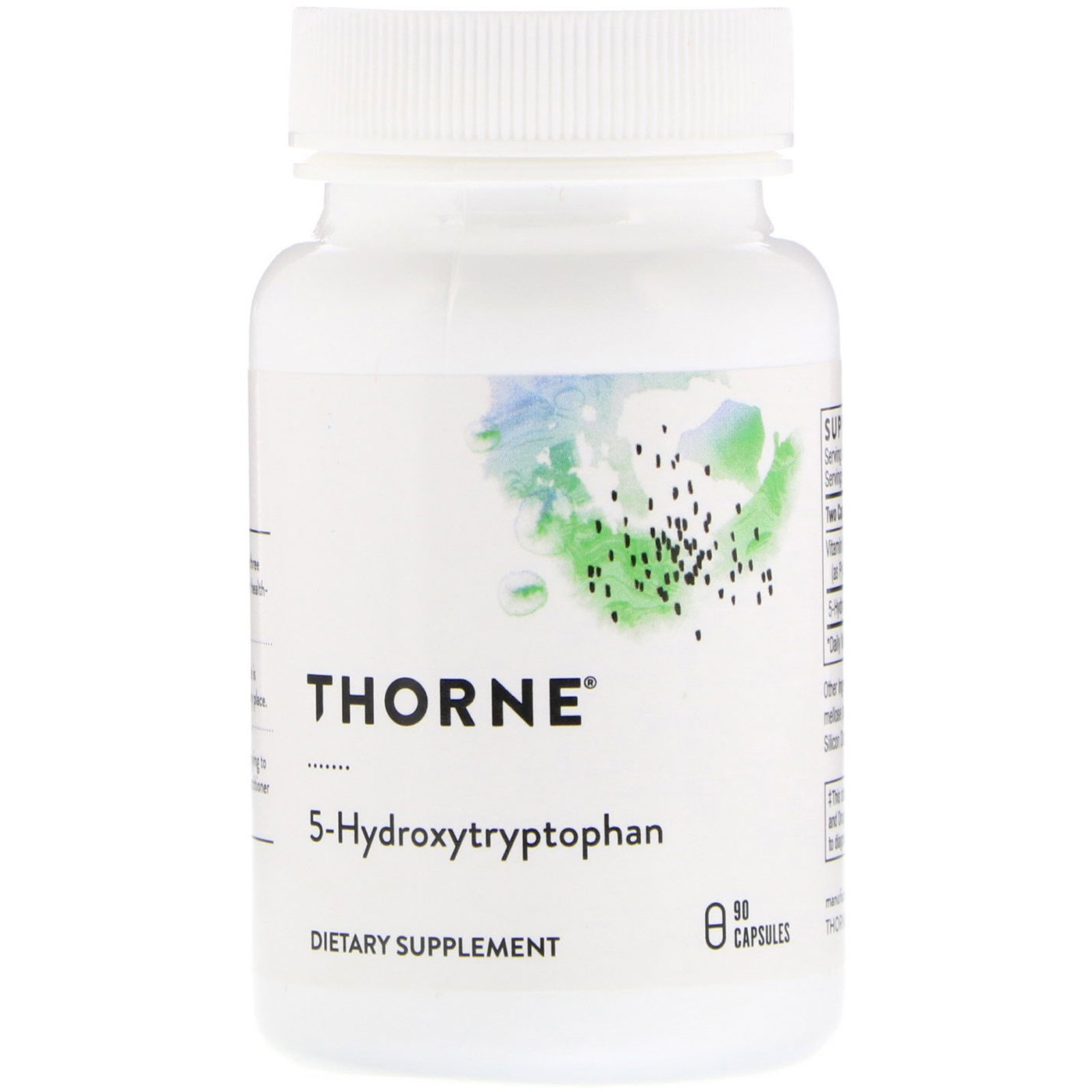 5-НТР (оксітріптан), 5-Hydroxy-Tryptophan, Thorne Research, 90 капсул