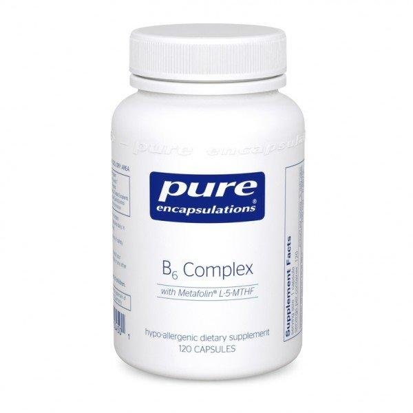 B6 Complex, Pure Encapsulations, 120 капсул