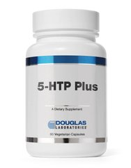 5-НТР плюс, 5-HTP Plus Formula, Douglas Laboratories, 60 капсул